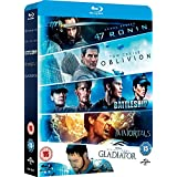 Oblivion / Battleship / Immortals / Gladiator / 47 Ronin - Box Set