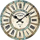 【morningplace】 マリンテイスト レトロ ウォールクロック 壁掛け 時計 インテリア に
