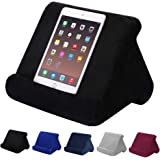 Aptech Tablet Pillow Stand for iPad, Multi Angle Soft Pillow Pad Phone Pillow Lap Stand, Universal Reading Tablet Stand Pillo