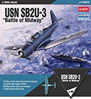 アカデミー 1/48th Scale USN SB2U-3 Battle of Midway #12324 ACADEMY HOBBY MODEL KITS