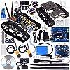 KumanワイヤレスWiFiインテリジェントロボットマニピュレータロボットカーキットArduino、ユーティリティ車の、HDカメラDSロボットスマート教育キットby IOS Android PC制御さsm5–1 SM5-US