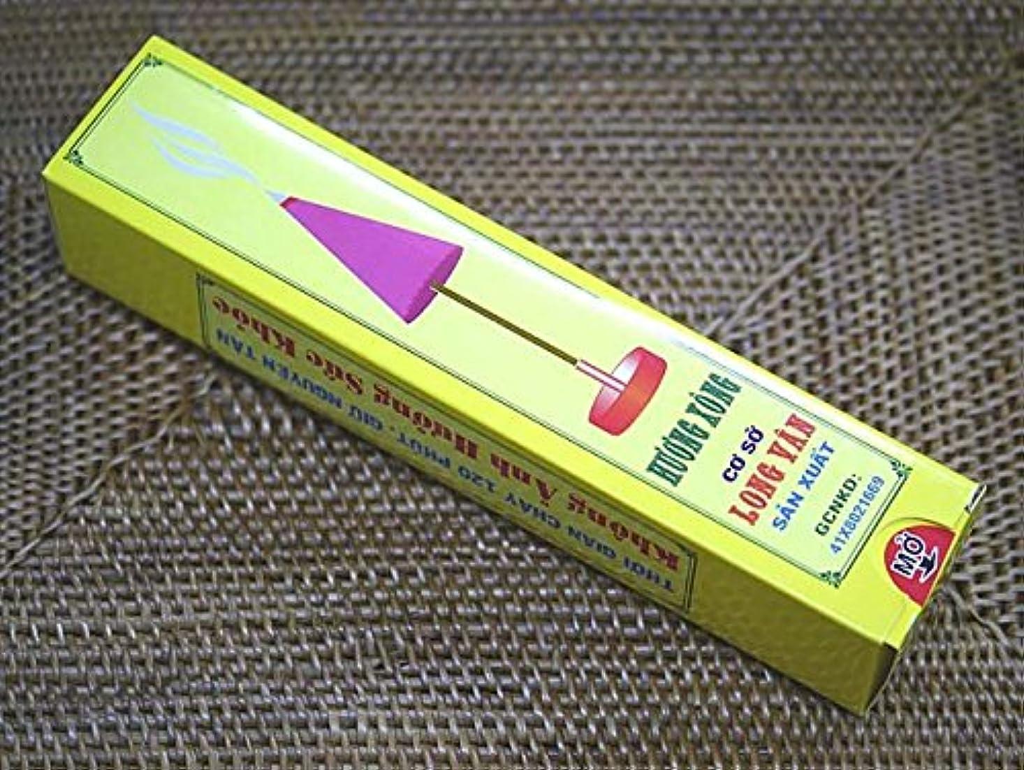 ラケット旅客テロリストVietnam Incense ベトナムのお香【浄化のお香HUONG XONG】家や店や会社など浄化を目的としたお香です ハンドメイド