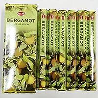 HEM (ヘム) インセンス スティック へキサパック ベルガモット 6角(20本入)×6箱 [並行輸入品]BERGAMOT