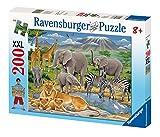 200ピース ジグソーパズル  アフリカの動物 Tiere in Afrika  (49 x 36 cm)