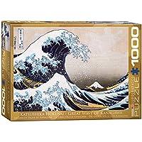 ジグソーパズル 1000ピース ユーログラフィックス Great Wave of Kanagawa 6000-1545