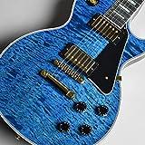 Gibson Custom Shop Les Paul Custom 3A Quilt Top Trans Bllue S/N:CS801242 【現地オーダー品】 ギブソン カスタムショップ