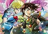 TVアニメ ジョジョの奇妙な冒険 B2タペストリー ジョセフ & シーザー C