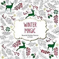 Winter Magic: Beautiful Holiday Patterns to Color (Color Magic)
