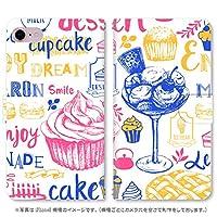 スマホ スマートフォン 手帳 スマホケース GOOD FOOD 【2042_GOOD FOOD1|Galaxy S9+ SCV39】