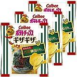 カルビー ポテトチップスギザギザ ピリ辛韓国のり風味 58g×3袋