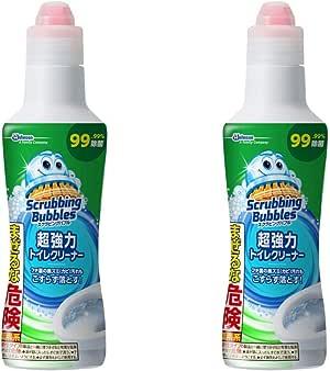 【セット品】スクラビングバブル 超強力 トイレクリーナー 400g (2個)
