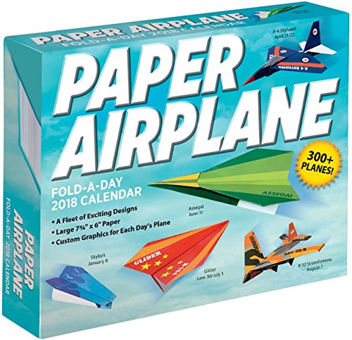 Download Paper Airplane Fold-a-Day 2018 Calendar 1449482759