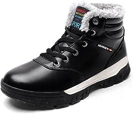 Sixspace スノーブーツ メンズ 防水 防寒靴 スノーシューズ 防滑 アウトドアシューズ ウィンターブーツ 綿雪靴 滑り止め