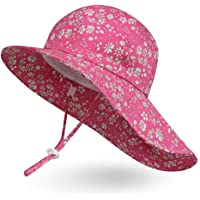 Ami&Li tots ベビー 帽子 キッズ 子供 日よけ 帽子 女の子 赤ちゃん uvカット 帽コットン広いつば太陽の…