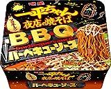 明星 一平ちゃん夜店の焼そば 大盛 BBQソース 163g×12個