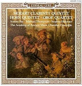 Mozart: Clarinet/Horn Quintets