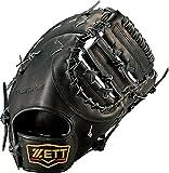 ZETT(ゼット) 野球 硬式 ファースト ミット プロステイタス (右投げ用) BPROCM43 ブラック