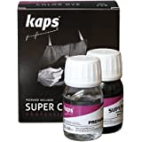 Dye With Primer For Natural And Synthetic Leather Shoes, Kaps Super Color And Preparer, 70 Colours