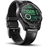 Ticwatch Pro 2020 Smartwatch Upgraded 1GB RAM, Dual Display with Long Battery Life, GPS, NFC, Wear OS by Google, 24H Heart Ra