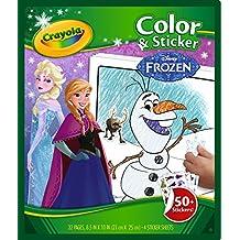 Crayola Color & Sticker Book - Frozen