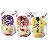 味の素 おかゆ 3種×3個(白がゆ3個、梅がゆ3個、玉子がゆ3個)【セット買い】