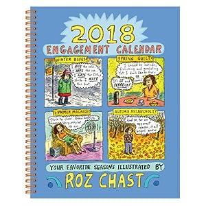 Roz Chast 2018 Engagement Calendar (Calendars 2018)