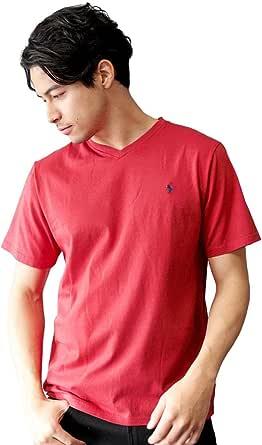 (ポロラルフローレン) POLO RALPH LAUREN Tシャツ メンズ クラシック コットン Vネック 半袖 カットソー ワンポイント ロゴ ボーイズライン