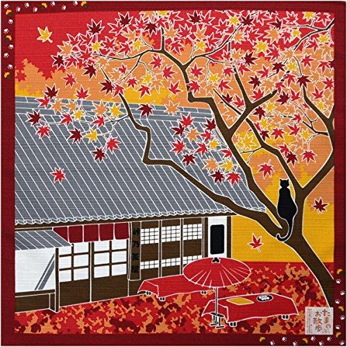小風呂敷 日本製【たまのお散歩 13868】11月/紅葉