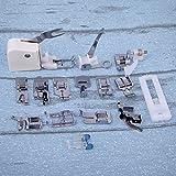 1セット15家庭用専門ミシン押さえ縫製機械部品アクセサリーキット