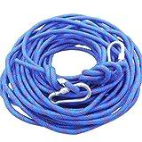 (モデルノ ラ テール) Moderno La Terre 選べる タイプ オリジナル ロープ カラビナ 二個 付き SN-TR (スカイ ブルー 18m)