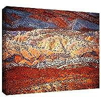 ArtWall ディーン・ウリンガー「コム・リッジ」ギャラリー‐布キャンバスウォールアート 18x24 0uhl264a1824w