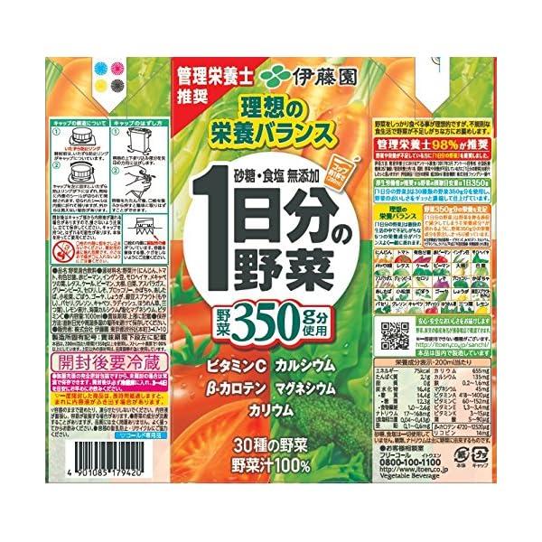 伊藤園 1日分の野菜の紹介画像24