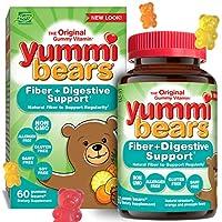 Hero Nutritional Products, Yummi Bears, Fiber, Natural Fruit Flavors, 60 Gummy Bears