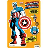 Aquarius Marvel- Captain America Desktop Standee [並行輸入品]