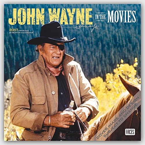 John Wayne in the Movies 2017 Calendar (Square Wall)