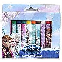 Disney Frozen 12 Countジャンボクレヨンクレヨンセット