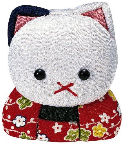 [해외]고양이 木目?み 인형 재료 세트 (수예 재료 · 인형 키트)/Cat wood grain doll material set (handicraft material   puppet kit)