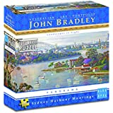 Blue Opal Bradley Sydney Harbour Moorings 500pc,Deluxe Puzzles