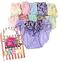 【7058 5DAYS shorts ショーツ 5枚セット 福袋 やわらかくてソフトな肌ざわり M L LL】 Mサイズ