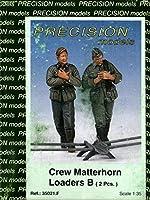 Precision Models 1:35 Crew Matterhorn Loaders B 2 樹脂フィギュアキット #35021.F