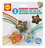 ALEX Toys Artist Studio Star Shaped Multi Color Crayons [並行輸入品]