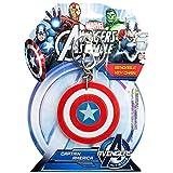 Marvel(マーベル)Captain America(キャプテン?アメリカ)Shield Bendable Keychain(キーホルダー) [並行輸入品]