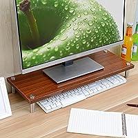 Super Kh® ブラケットベース、オフィスデスクストレージラックを増やすためのコンピュータモニター画面 * (色 : 3#)