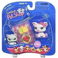 Littlest Pet Shop Pet Pairs Figures Pot Belly Pig & Kitten by Hasbro [並行輸入品]