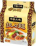 明星 中華三昧 担々麺 3P