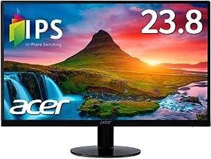 Acer モニター SA240YAbmi 23.8インチ/IPS/非光沢/1920x1080/フルHD/16:9/250cd/4ms/ブラック/HDMI1.4/ミニD-Sub 15ピン