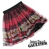 (ジュニアゴルチェ)Junior GAULTIER ペイント柄チュールスカート/16A(165cm)