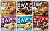 ニューバランス 人気 バランスパワービッグ(2本入り2袋)6種類 アーモンド、ブラックカカオ、玄米グラノーラ、ブルーベリー、北海道バター、しっとりココア 各1箱