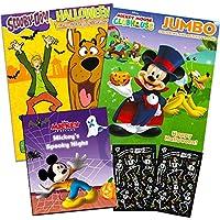 ディズニーミッキーマウスハロウィンカラーリングブックSet ( 2 Coloring Books )