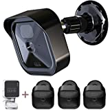 All-New Blink Outdoor Camera Housing and Mounting Bracket, 3 Pack Protective Cover and 360 Degree Adjustable Mount with Blink